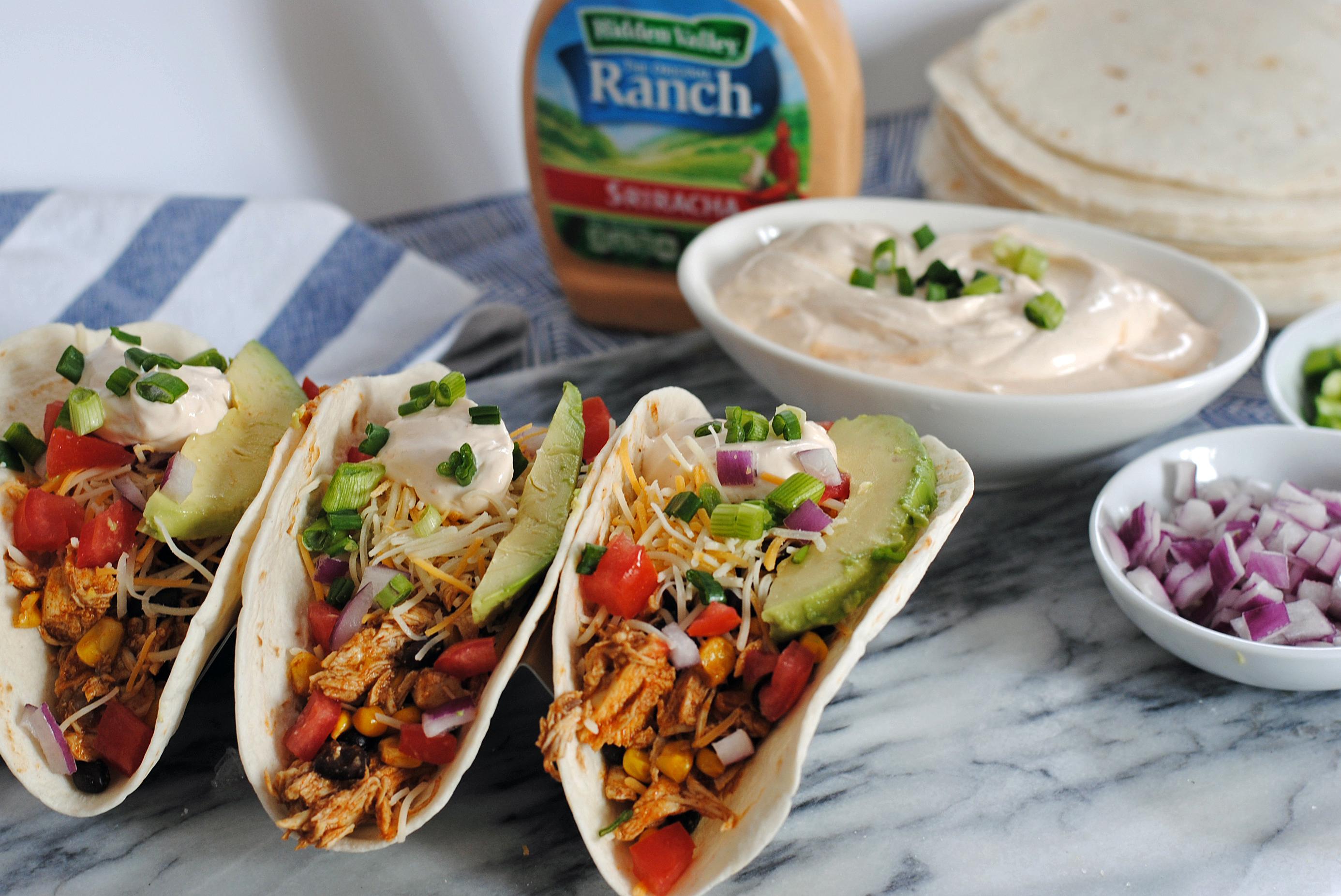HVR Siracha Ranch Tacos 1