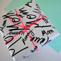 Mother's Day Wrapping Paper.