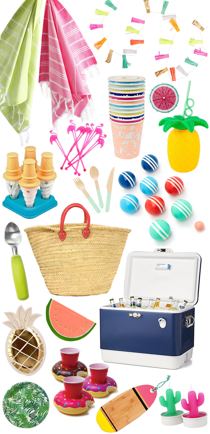 Summer Party Supplies