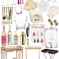 Stocking Your Holiday Bar Cart.