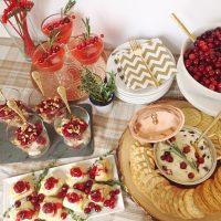 A Cranberry Friendsgiving Feast.