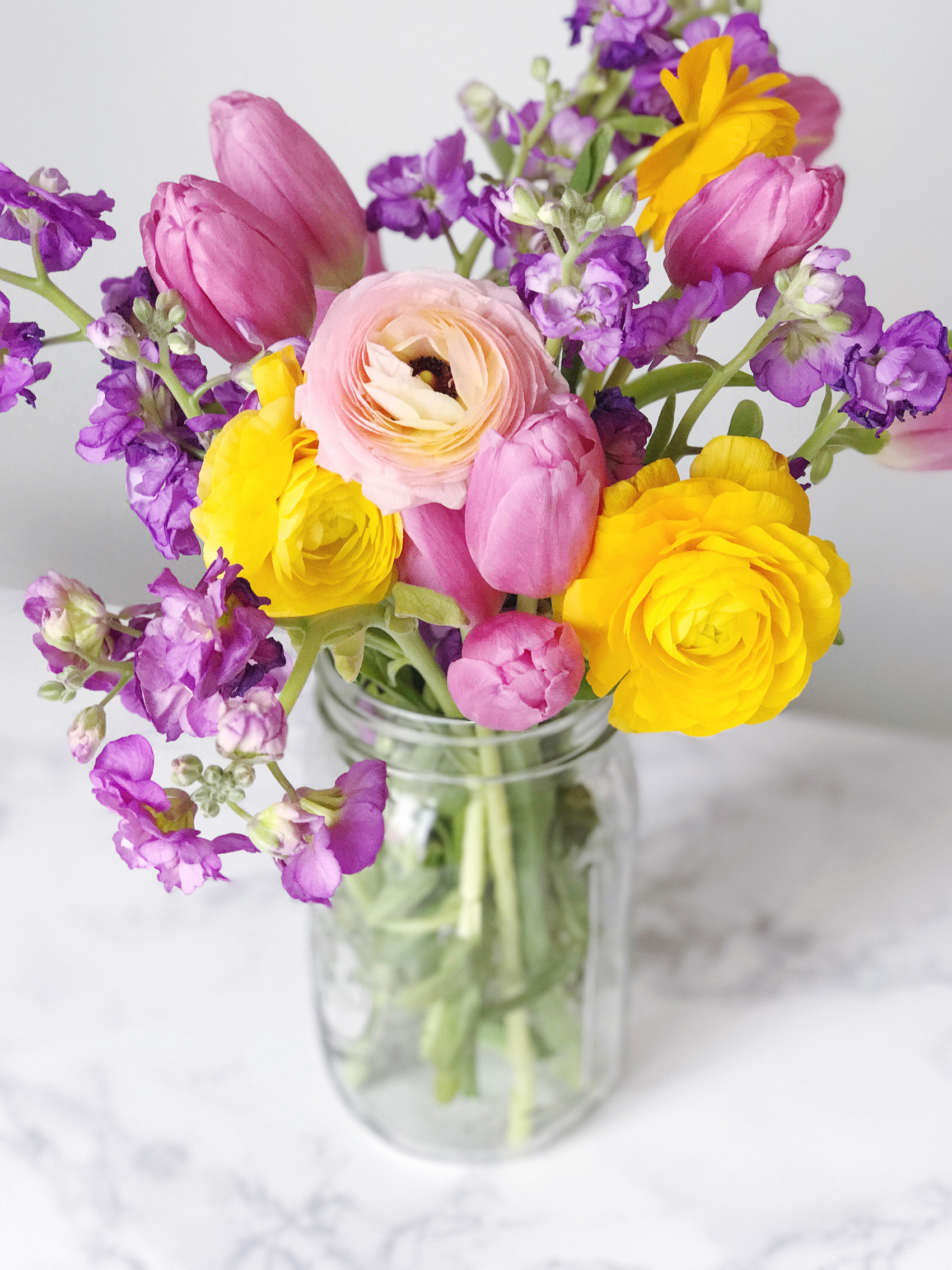 Spring Floral Arranging Tips With Alices Table Domestikatedlife