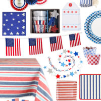 Red, White and Blue Party Inspiration.