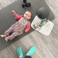 Working Out With a Baby.