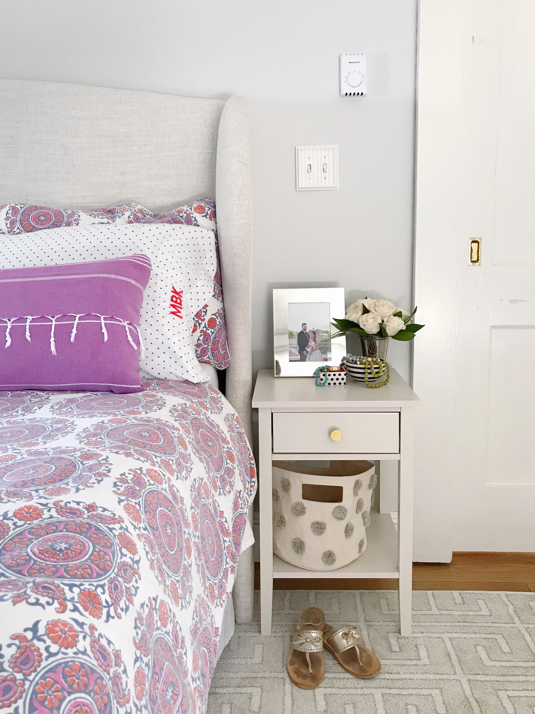 Master Bedroom Makeover | Domestikatedlife - Boston Lifestyle Blog