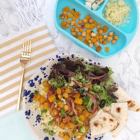Spiced Butternut Squash and Chickpea Grain Bowl.
