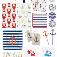 Nautical Party Supplies.