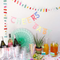 Colorful Fiesta Baby Shower.