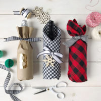 Hostess Gifts, Wine, and DIY Wrapping Ideas.