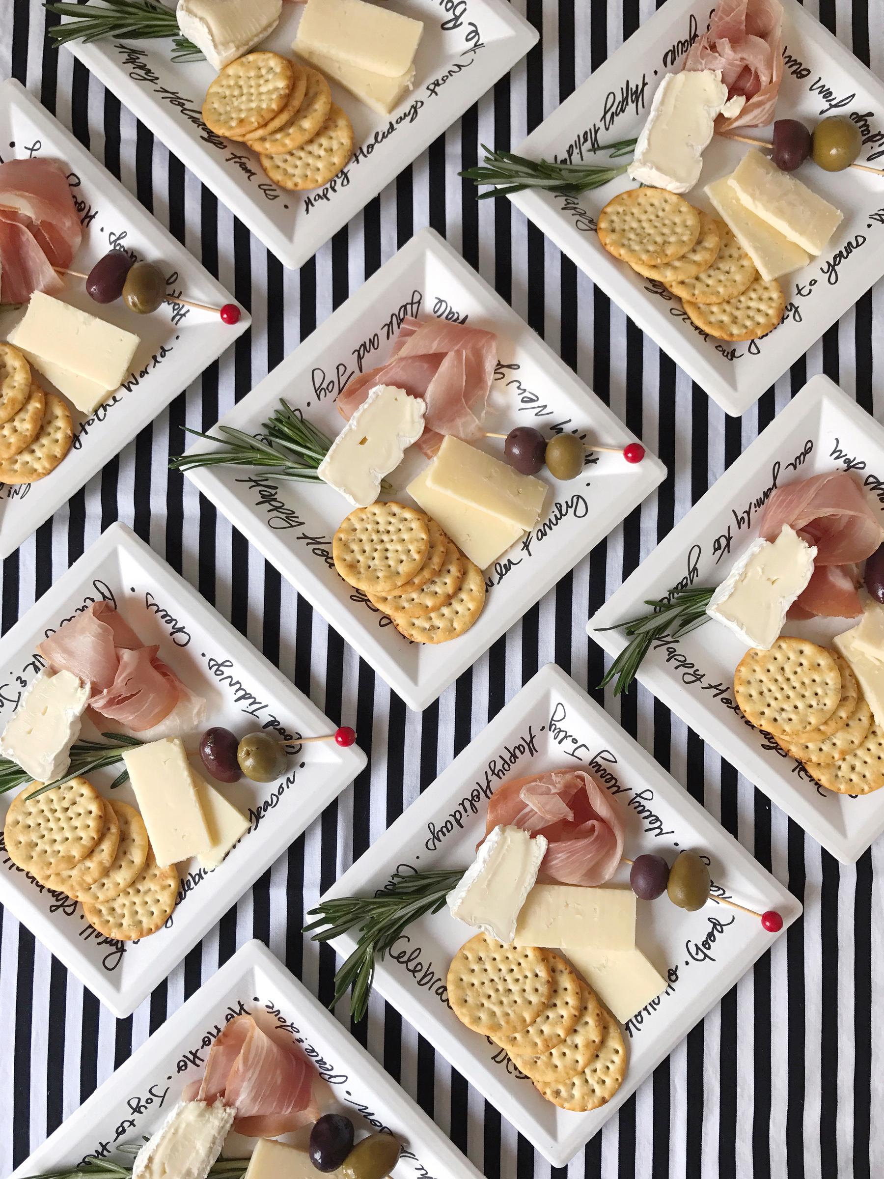 Mini Holiday Cheese Plates  - DomestikatedLife