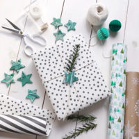 DIY Malachite Gift Tags and Giving Back With Garnet Hill.