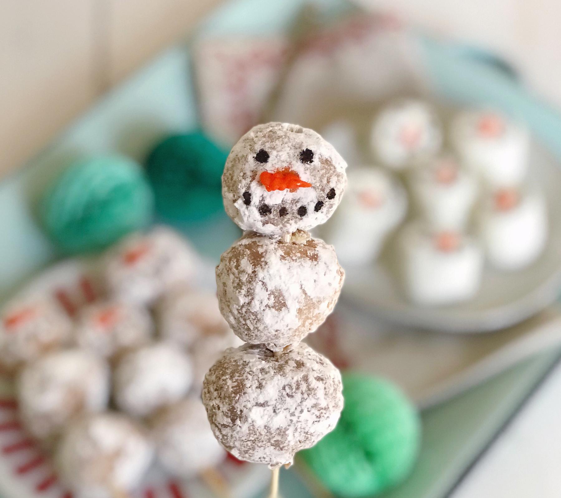 Holiday Coffee Bar And Snowman Sweet Treats