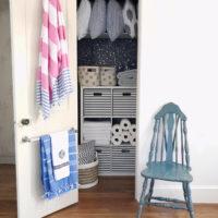 Linen Closet Makeover.