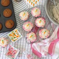 Carrot Cake Cupcakes.
