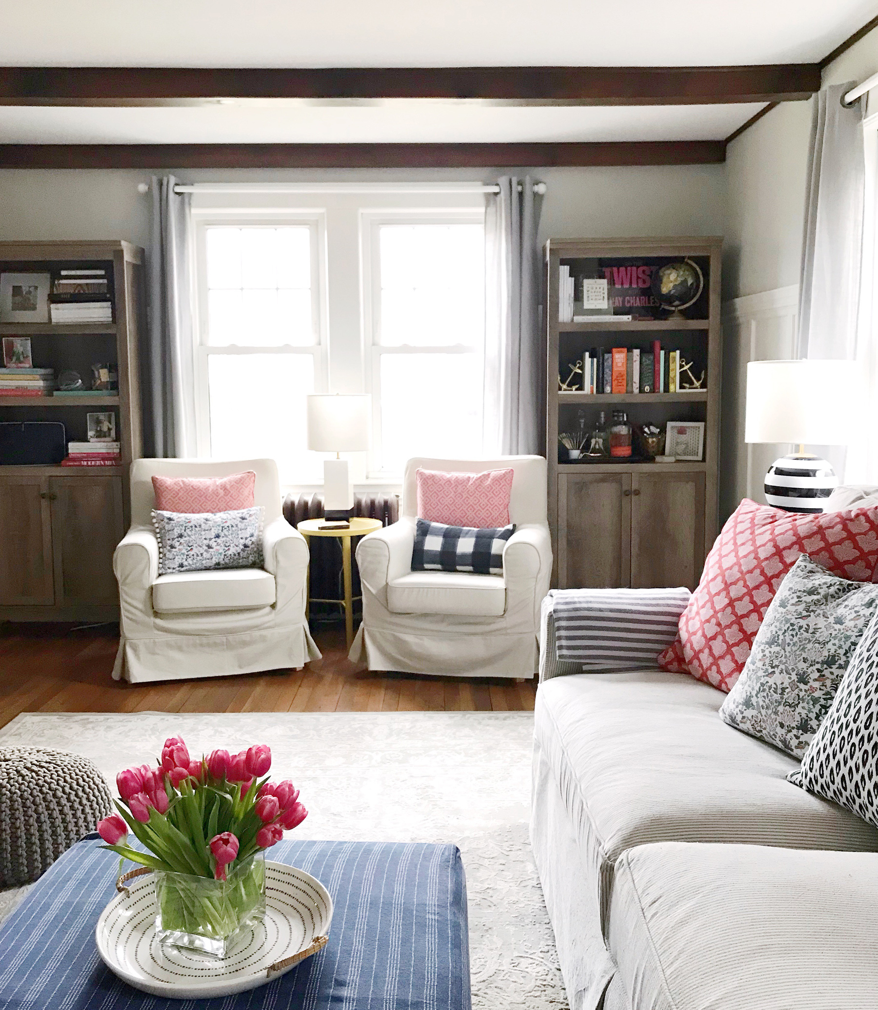 Living Room Makeover. - DomestikatedLife