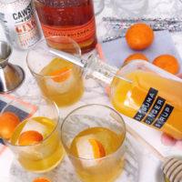Satsuma Ginger Cocktail.