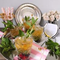 Mixed Berry Mint Juleps.