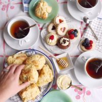 Royal Tea, Treats and Scones.