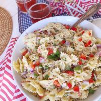 Lemon-Herb Macaroni Salad.