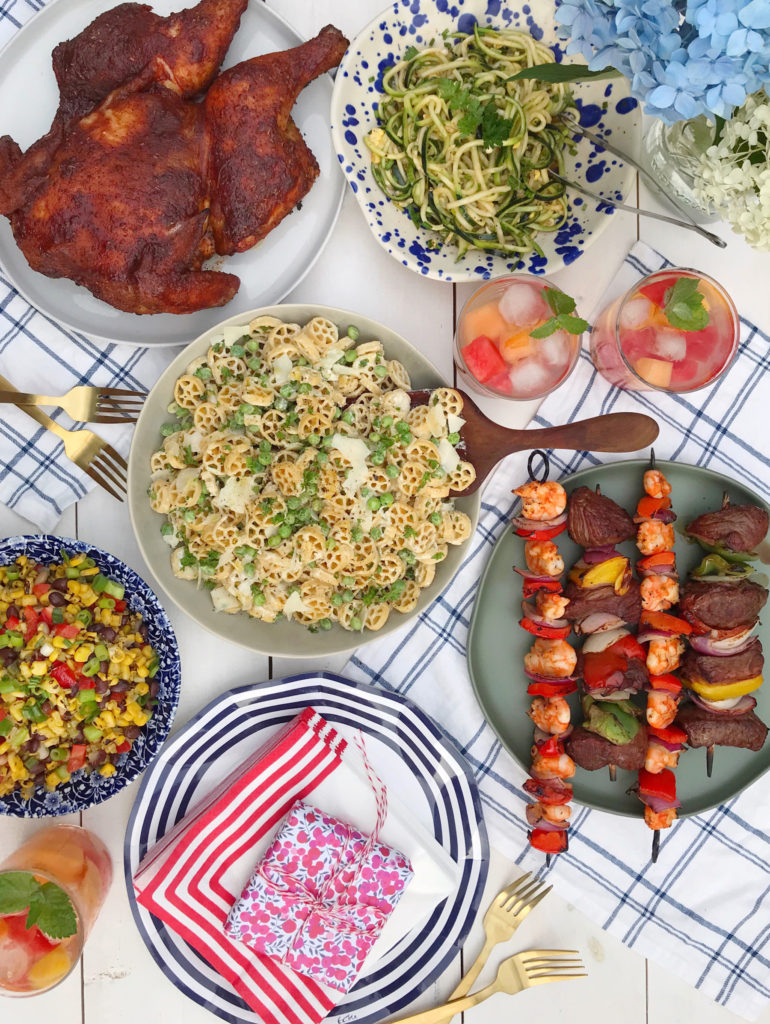 An Easy Summer Bbq Menu Domestikatedlife