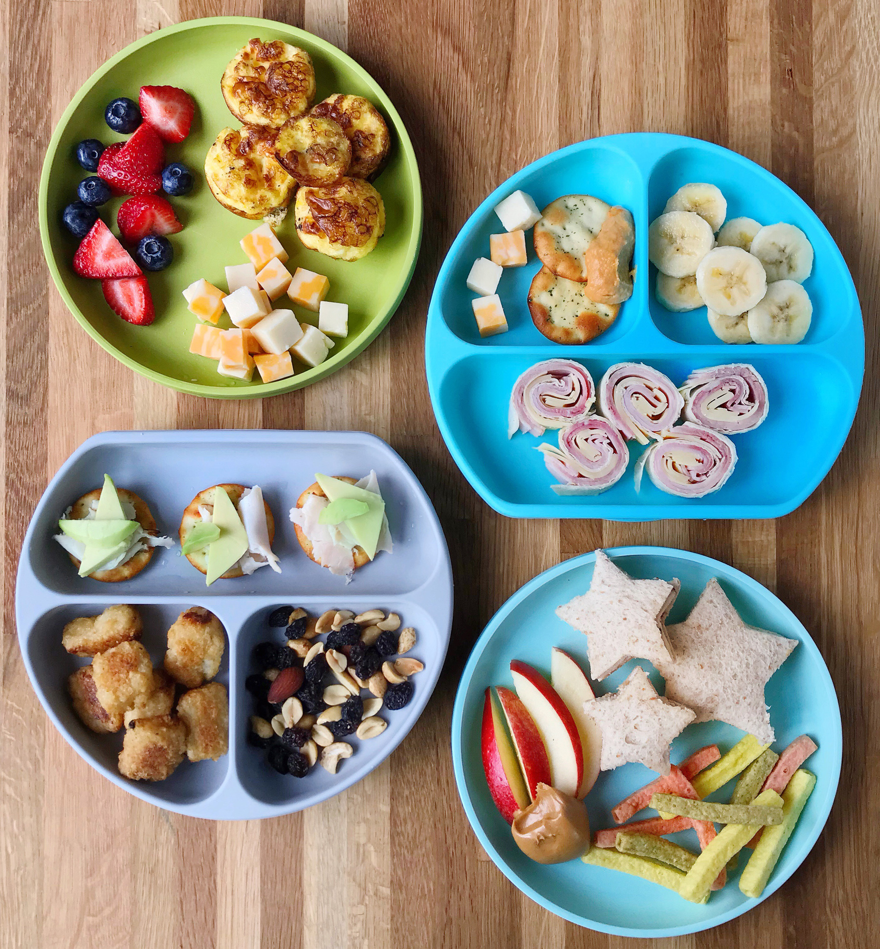 Kid Friendly Snack Plate Lunches Domestikatedlife
