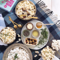 A Cozy Fall DIY Popcorn Bar.