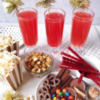 Ruby Red Carpet Champagne Punch