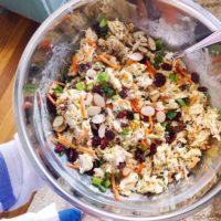 Tarragon Curry Chicken Salad.