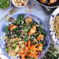 Trader Joe's Hack: Spicy Peanut Noodle Salad.
