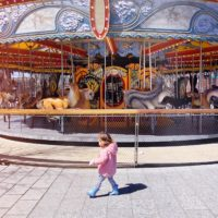 The Greenway Carousel.