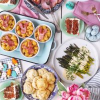 Quick-Prep Easter Dinner Menu.