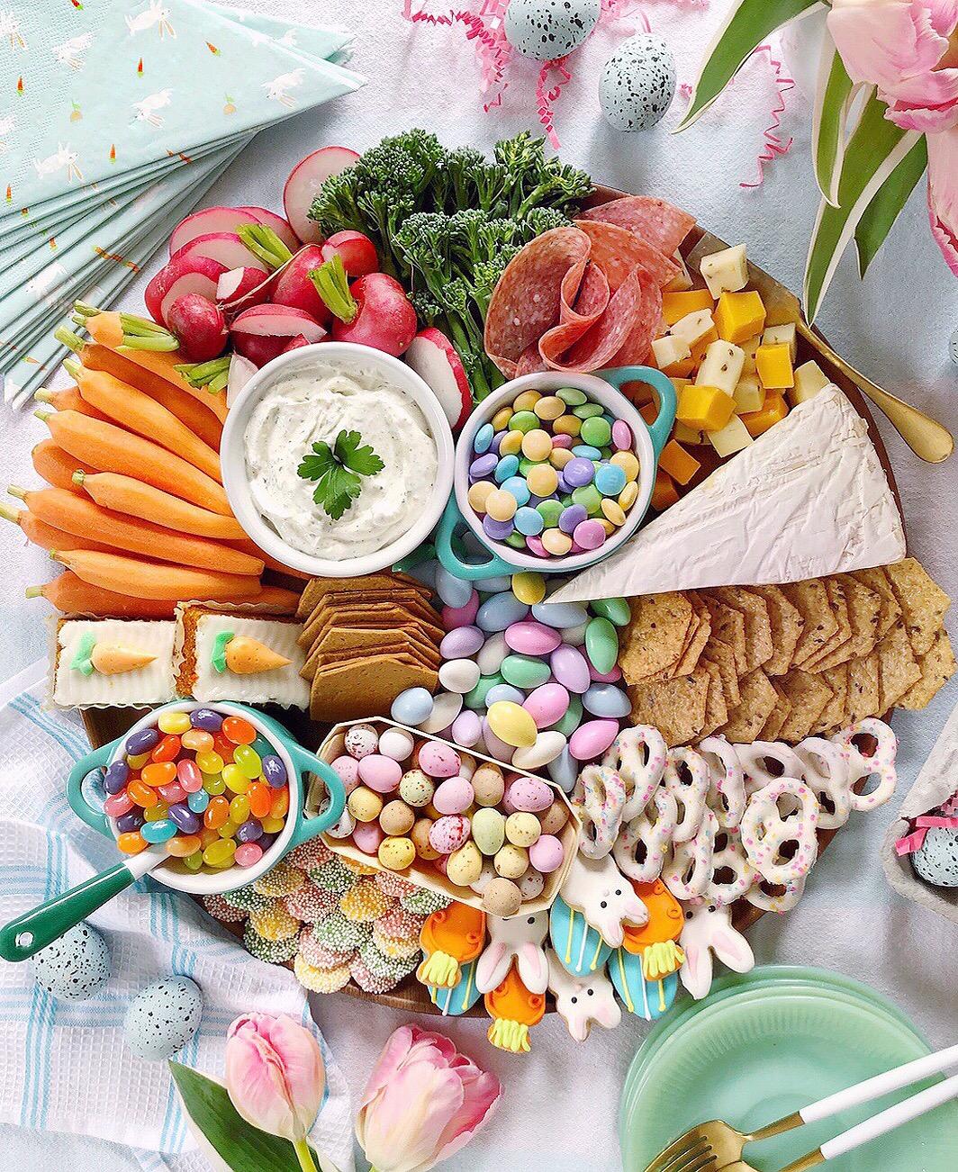 Easter Grazing Board Domestikatedlife