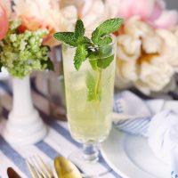 Limoncello Mint Sparkler.