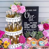 A Colorful Floral Bridal Shower.