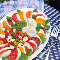 Ultimate Caprese Salad.