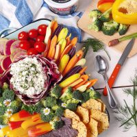 Herb Cottage Cheese Dip.