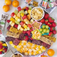 Kid-Friendly Snack Time Spread.