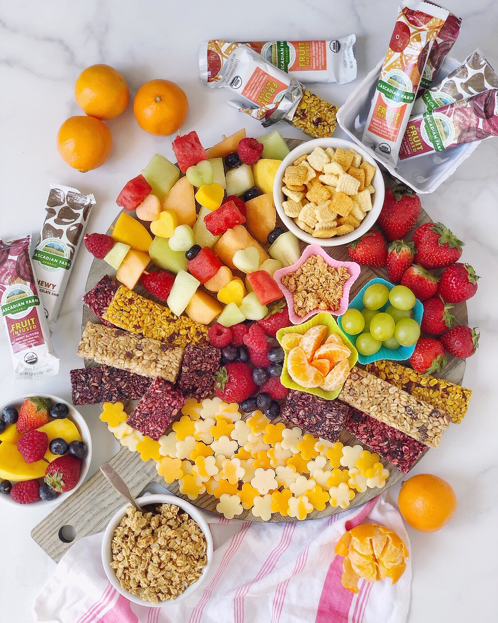 Kid Friendly Snack Time Spread And Toddler Grazing Board Ideas