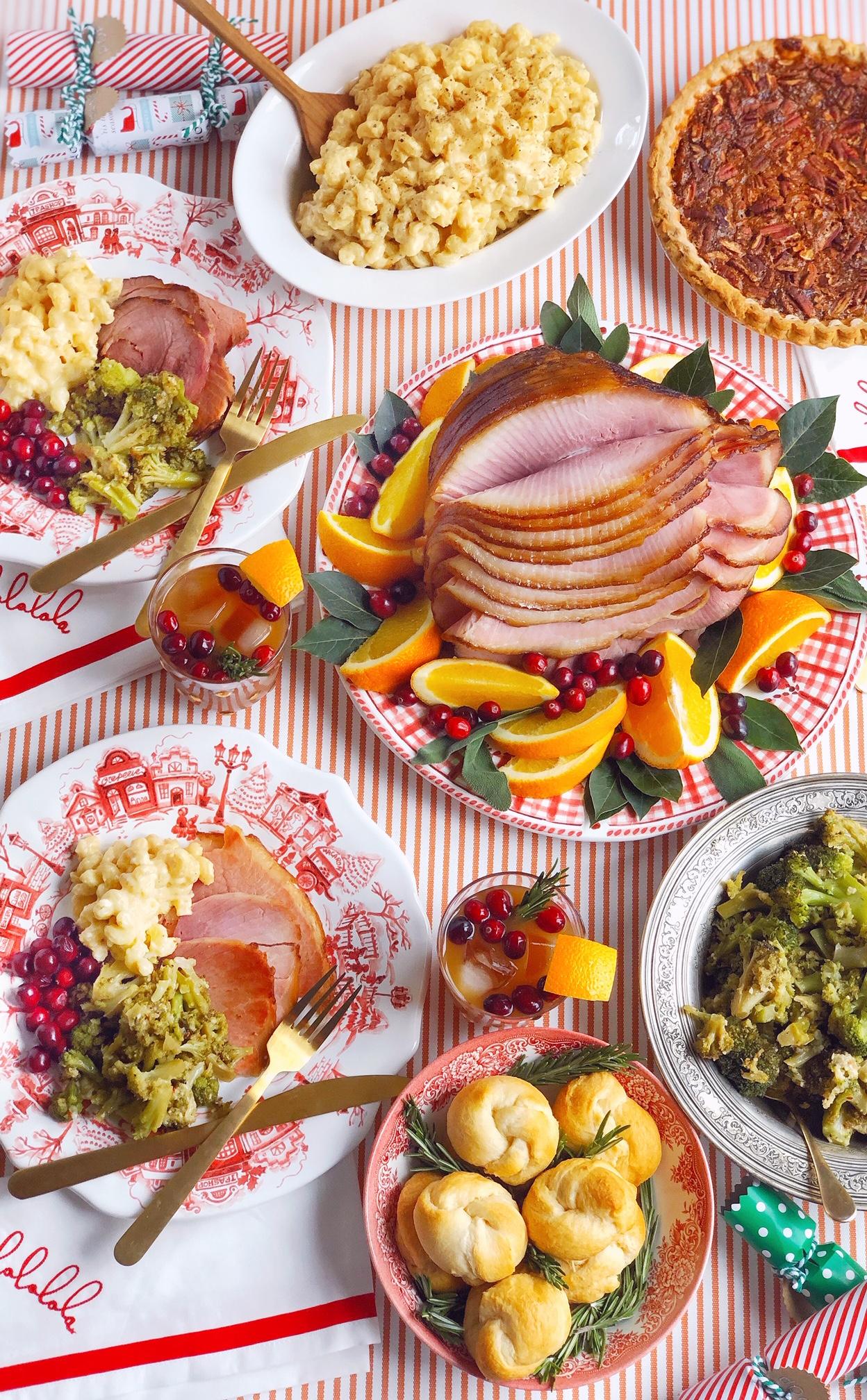 Honey Baked Ham Christmas Dinners For 2020 A Simple Christmas Dinner Menu.   DomestikatedLife