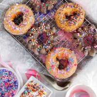 DIY Decorated Donuts.