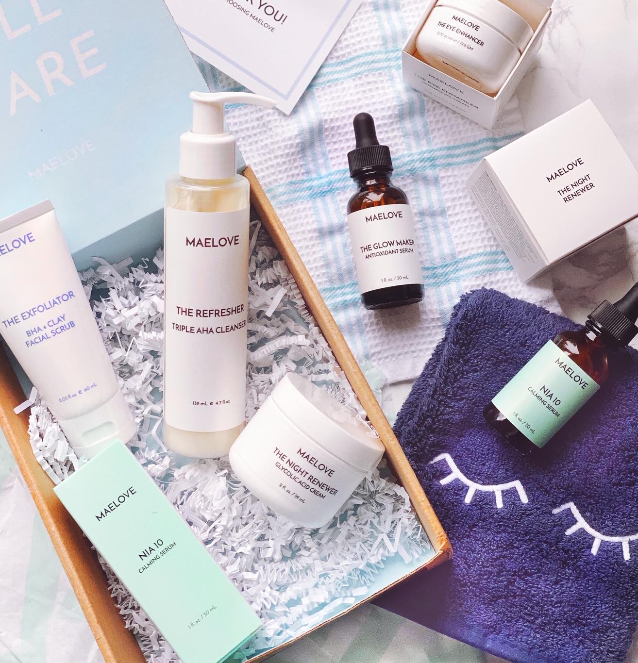 Maelove Skincare Line