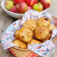 Apple Zucchini Muffins.