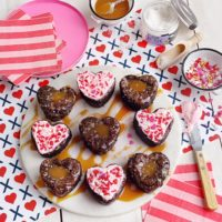 Valentine's Day Brownies - Two Ways.