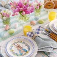 A Spring-Inspired Easter Table.