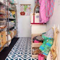 Chasing Paper DIY Peel and Stick Floor Tiles.