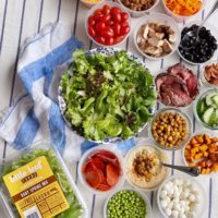 Salad Ideas to Use Leftovers and Reduce Food Waste.