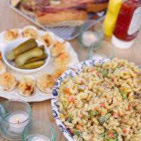 Buttermilk and Herb Macaroni Salad.