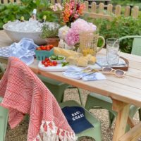 Outdoor Entertaining with Serena and Lily.