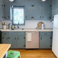 A Budget-Friendly Mini Kitchen Makeover.
